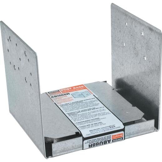 Simpson Strong-Tie 8 In. x 8 In. 14 ga Galvanized ABU Post Base