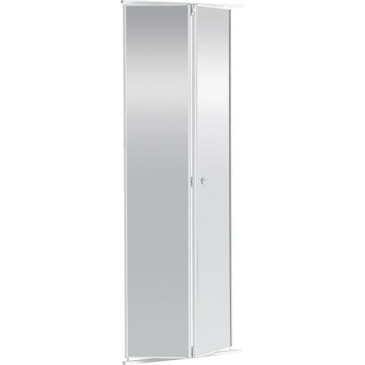 Colonial Elegance 24 In. H x 80-1/2 In. H Clear Framed Mirrored Bifold Door