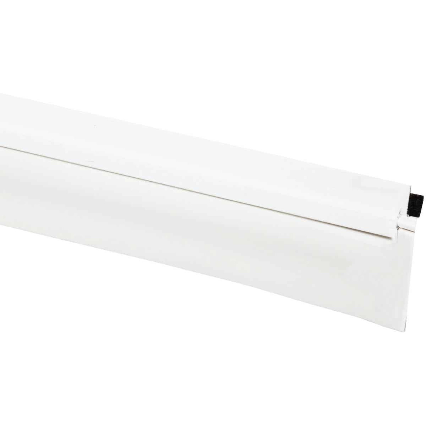 "M-D 36"" White Door Bottom Weatherstrip Replacement Image 1"