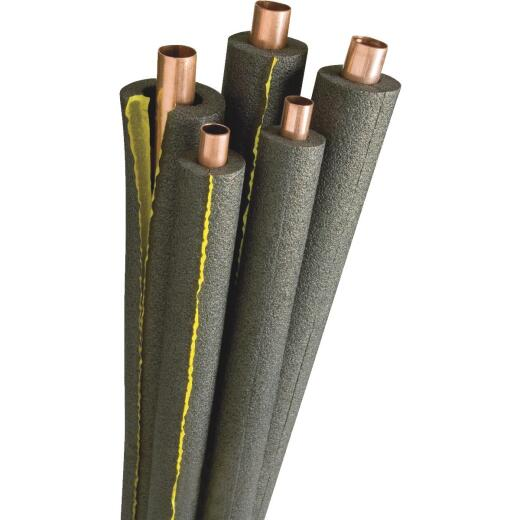 Tundra 1/2 In. Wall Semi-Slit Polyethylene Pipe Insulation Wrap, 1-1/2 In. x 6 Ft. Fits Pipe Size 1-1/2 In. Copper / 1-1/4 In. Iron
